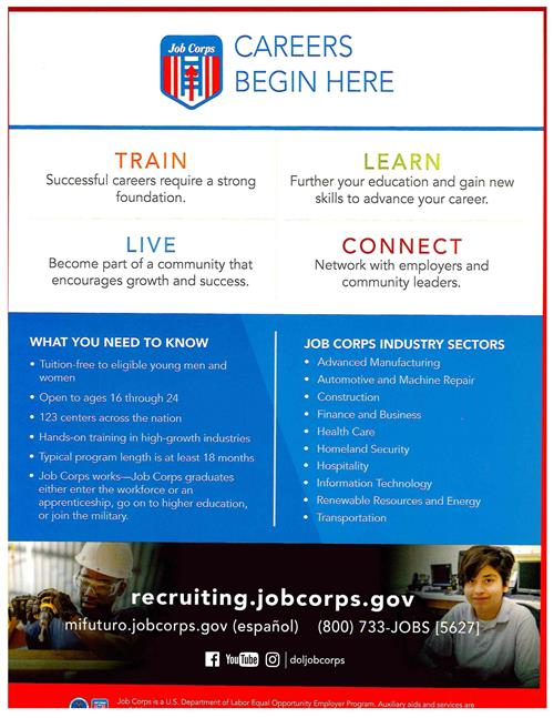 Job Corp- Careers Begin here