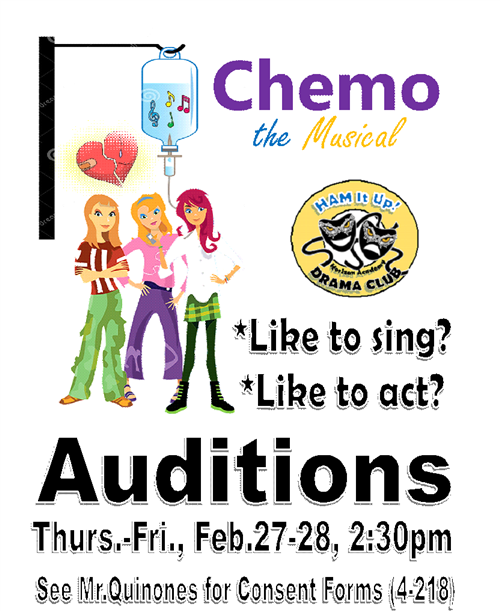 Chemo auditions