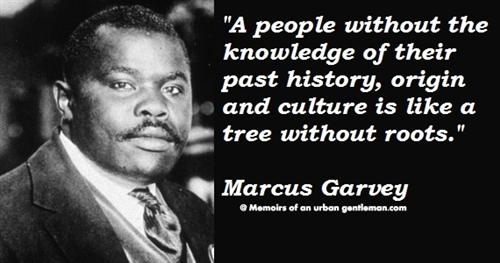 Marcus Garvey and History