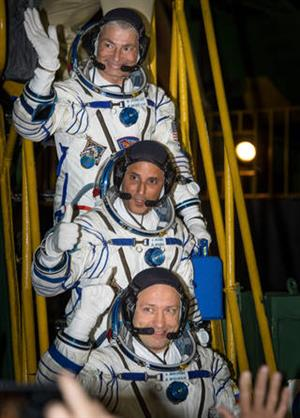 Expedition 53 launch