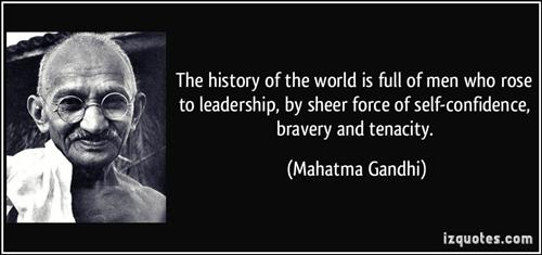 Gandhi and History