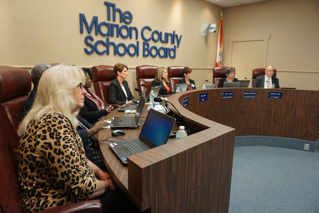 Marion School Board Meeting, Dec. 13, 2016