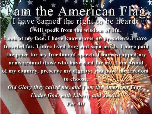 Land of the free, home of the brave...