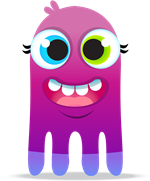 Purple MultiLegged Monster image