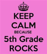 Keep Calm 5th Grade imageg