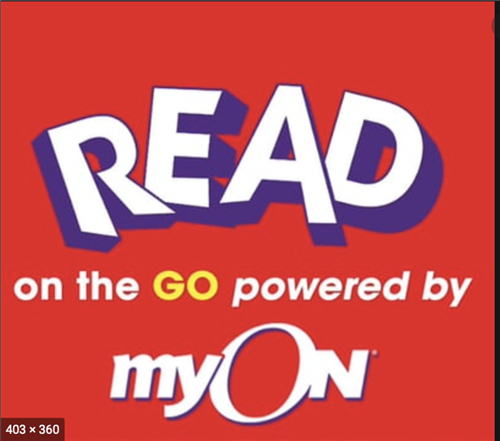 MyOn Read red clip art