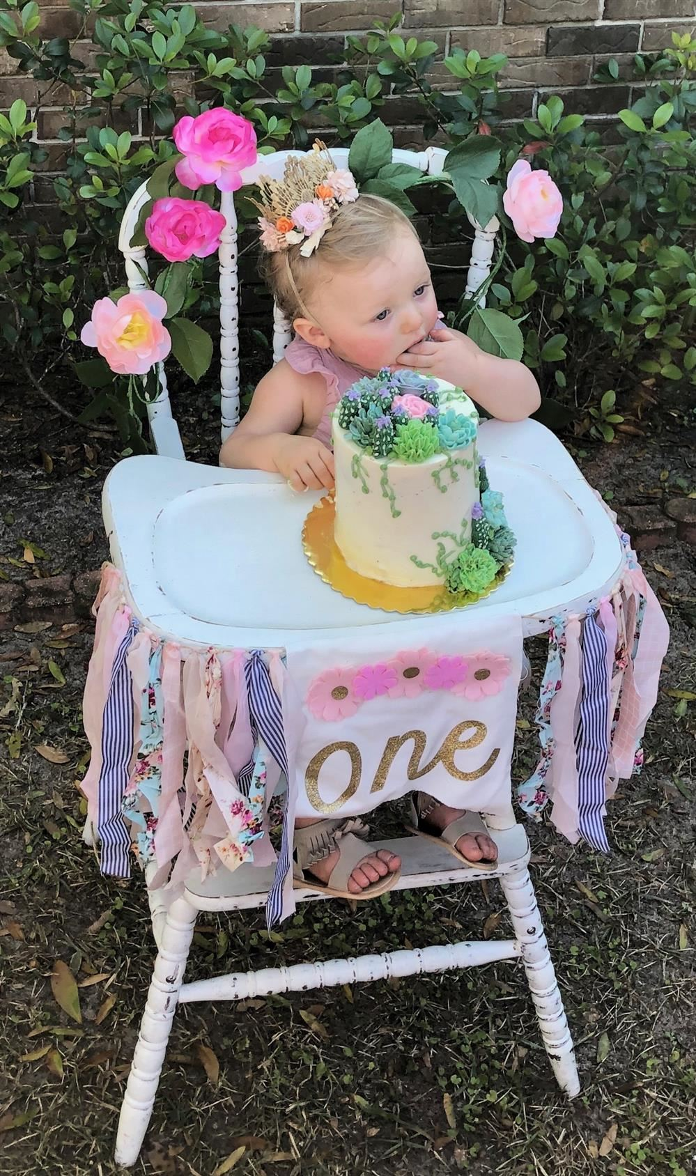 Natalie is ONE!