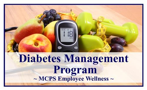 Diabetes Management Program page