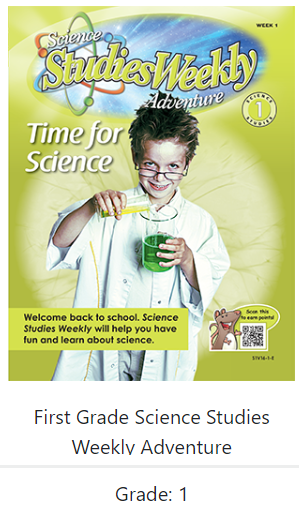 Science weekly cover
