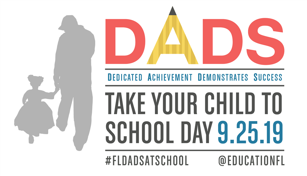 """Dads Take Your Child to School Day"" Set for Sept. 25"