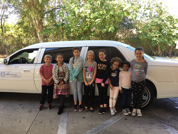 Top Sellers Enjoy Limo Ride to Sonic!