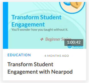 Transform Student Engagement with Nearpod