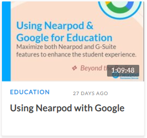 Using Nearpod with Google