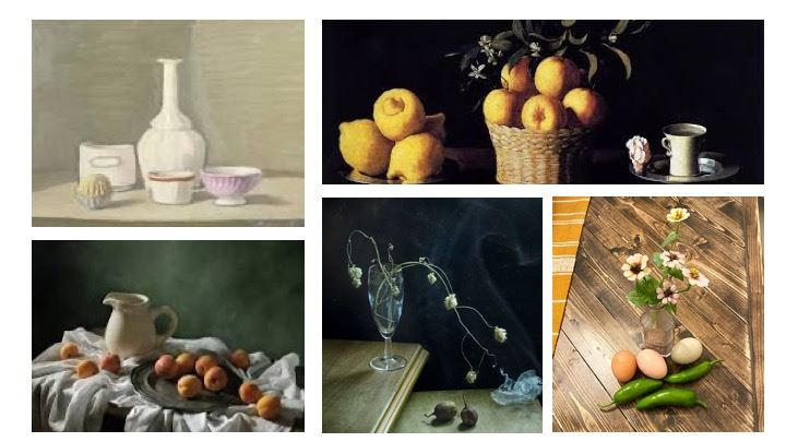 Create Your Own Still Life - Weekend Challenge