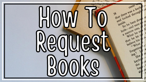 How To Request Books