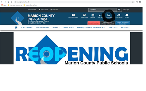 Marion County Schools Website