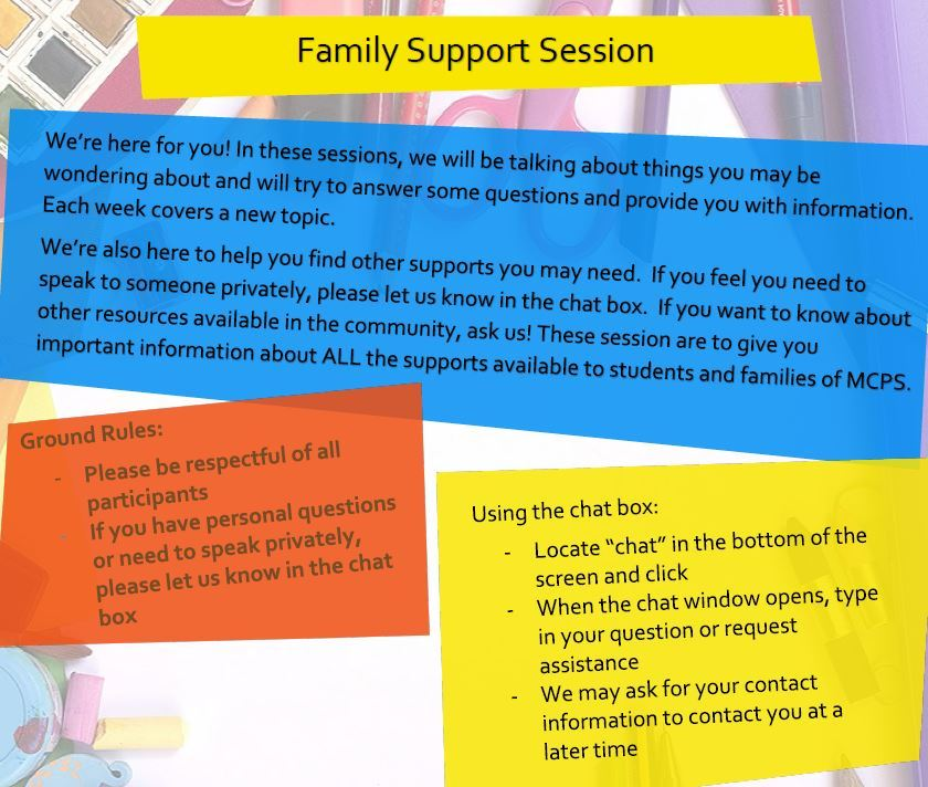 Mental Health Summer Support Zoom Sessions