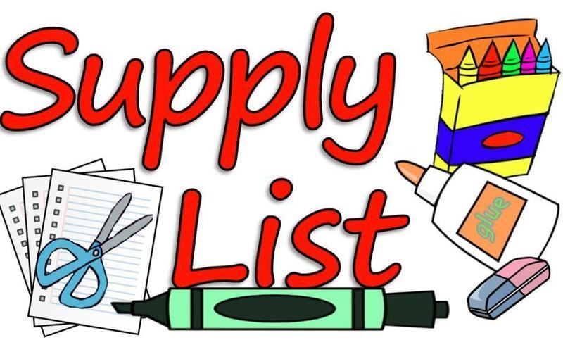 2019-2020 Supply Lists