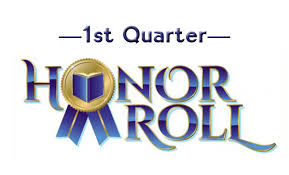 Congratulations to our 2nd Quarter Honor Roll Students!
