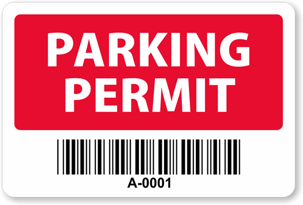 Student Parking Permit