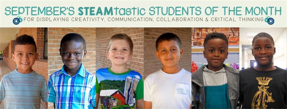 STEAMtastic Students of September