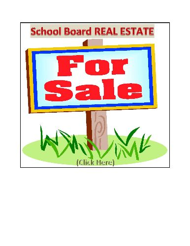 School Board Real Estate For Sale