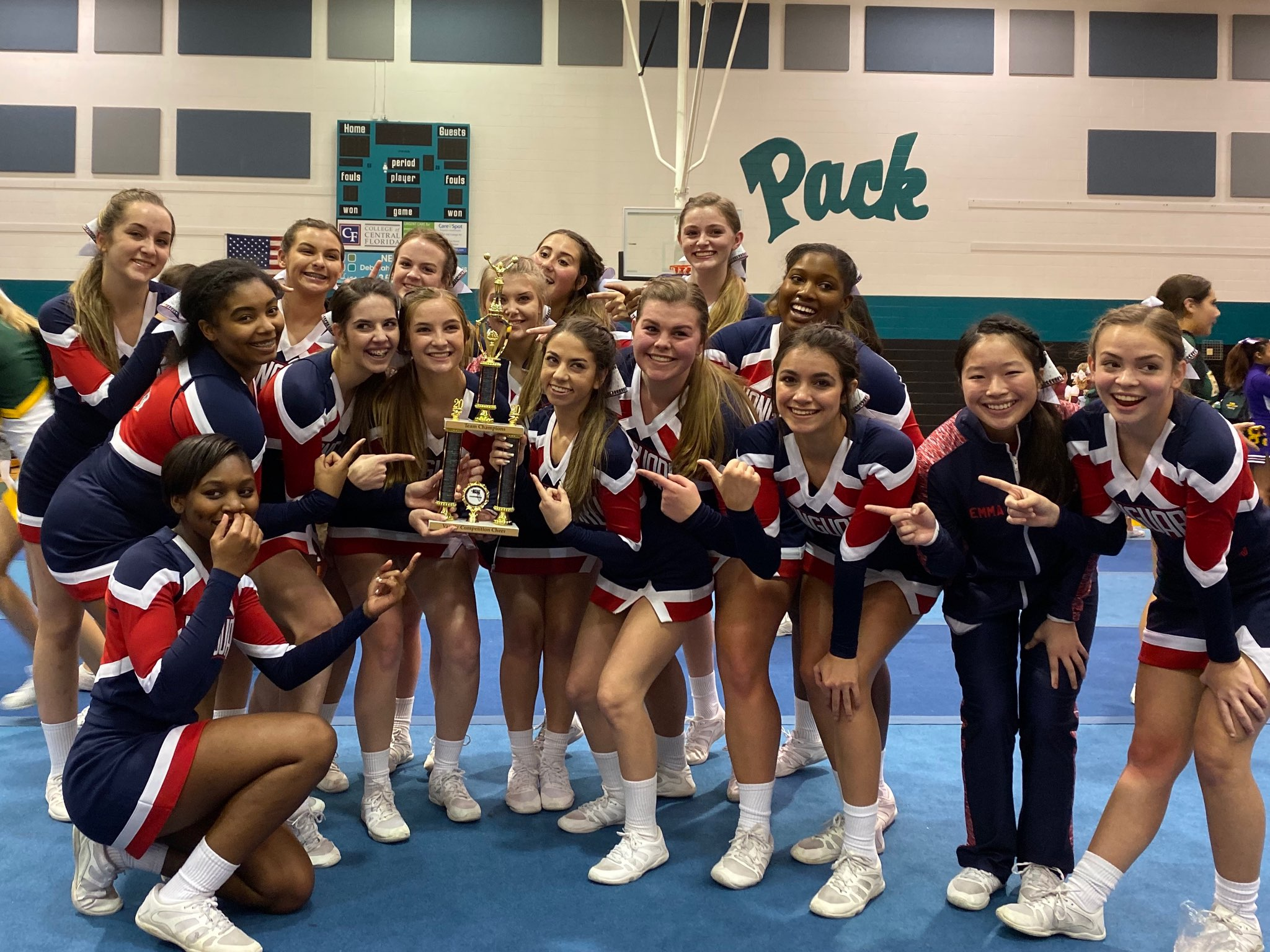 2019-20 Competitive Cheer Champions