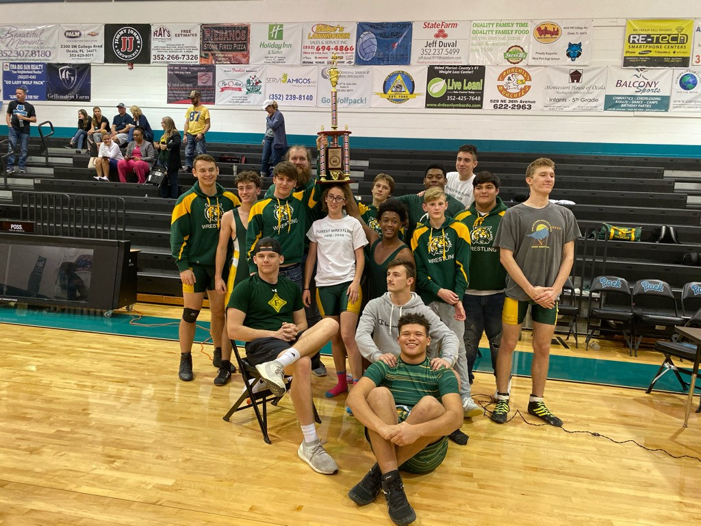 Forest High School Wrestling team