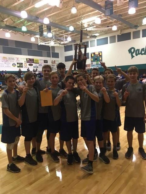 2018 Osceola Middle School Volleyball Champs (Female)