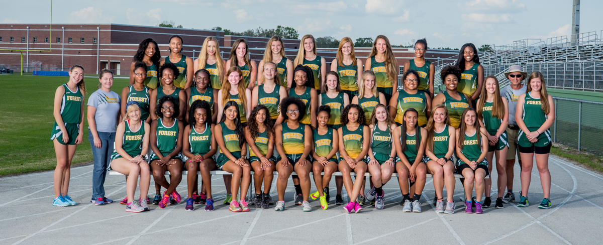 2016-2017 Female Track and Field champions