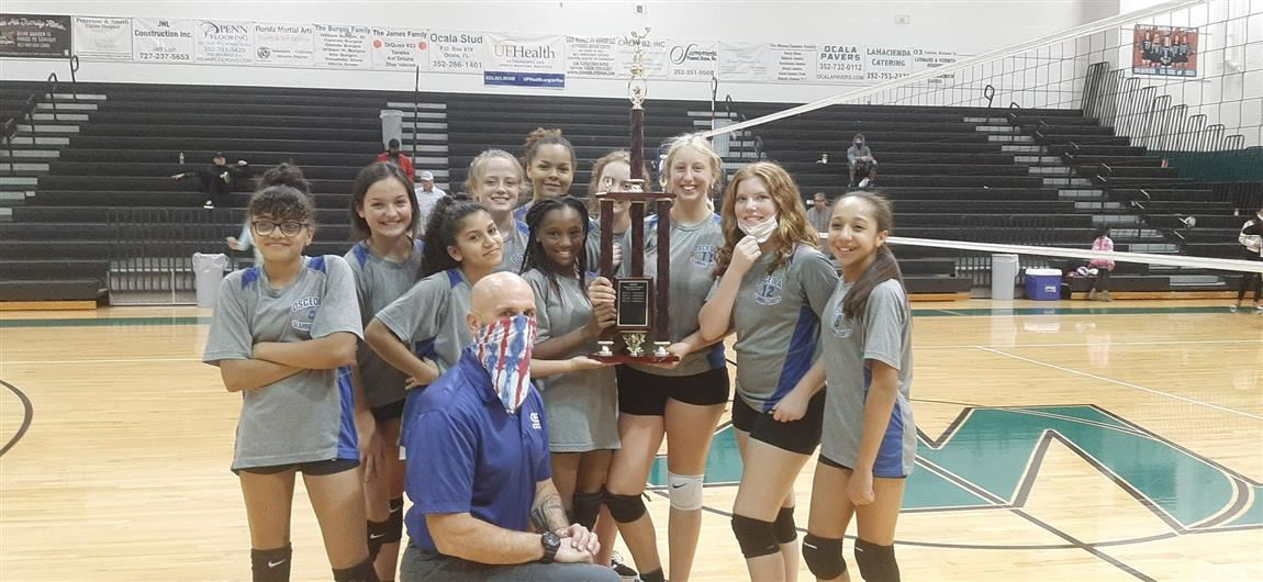 Osceola Middle Girls Volleyball Team
