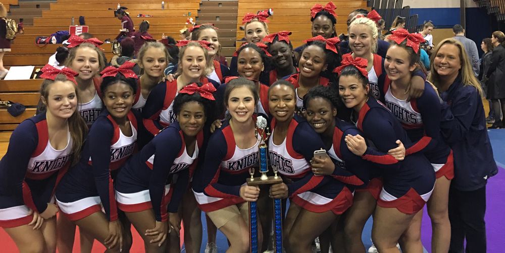 2016-2017 MCIAC Competitive Cheer Champions (Female)