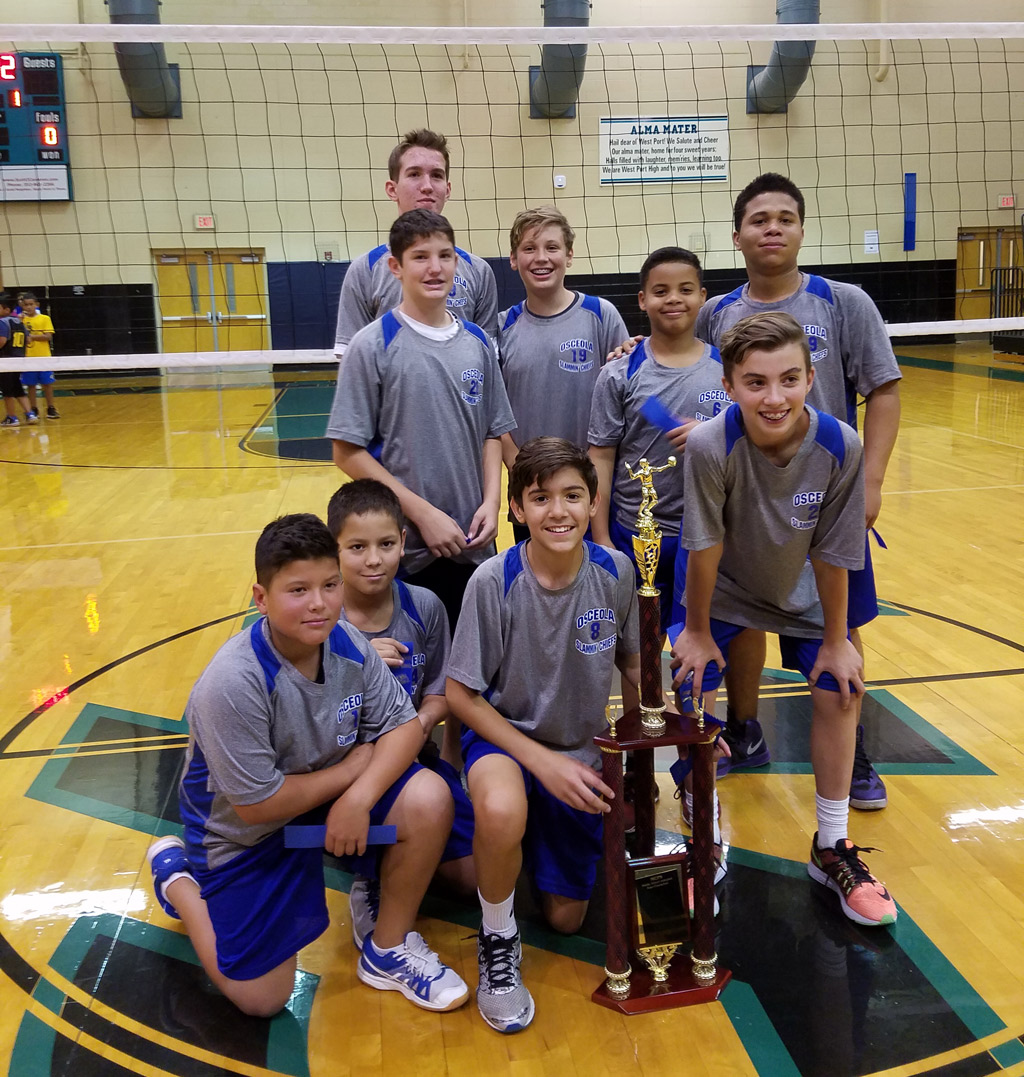2016 Team Championship Male Volleyball
