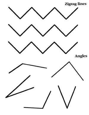 Angles & zigzags