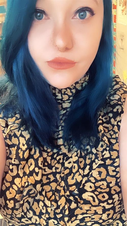 Who doesn't like blue hair?