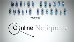 Netiquette video for MCPSonline students