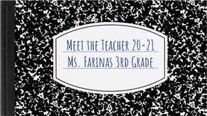 Meet the Teacher Google Slide presentation