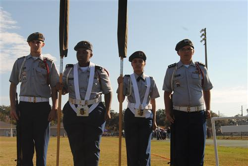 Male Mix Color Guard