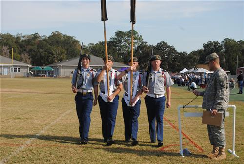 Male Color Guard