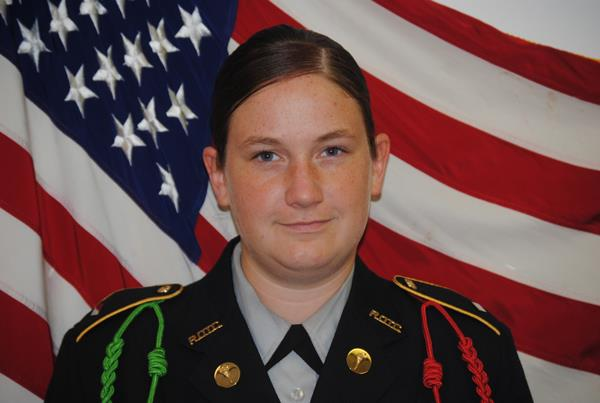 Battalion Executive Officer C/Maj Tara Meeks
