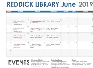 July Library Events