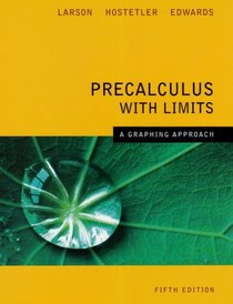 Precalculus with Limits (Larson)