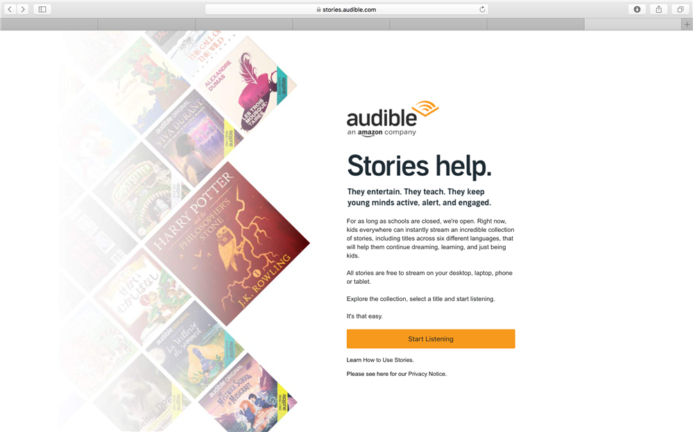 Stories Audible