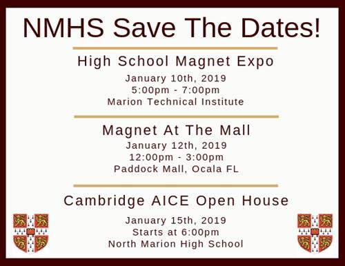 NMHS Save the Dates