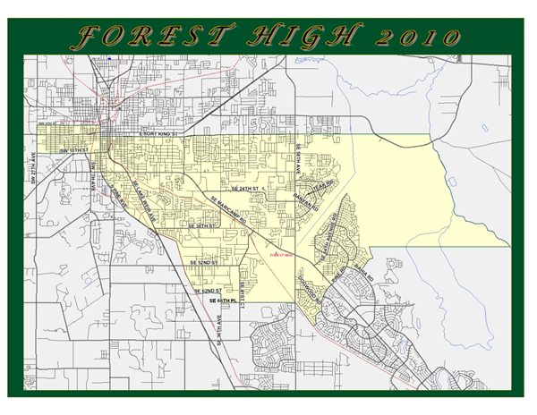 Forest High Zoning Map