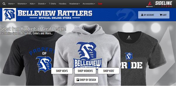 Belleview Rattlers Online Store