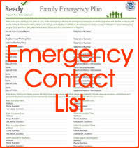 Emergency Contact Updates