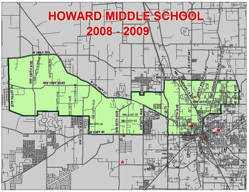 Howard Middle Zoning