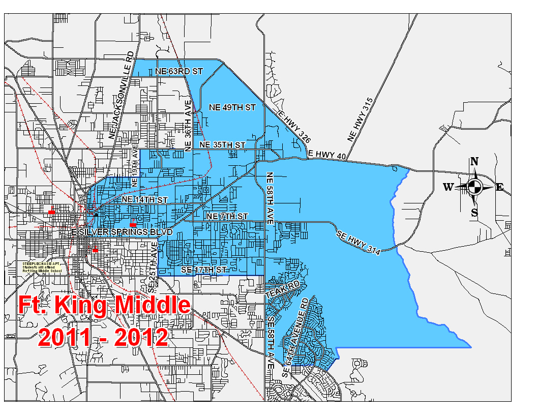 Zoning Boundary Map / Home - Fort King Middle School