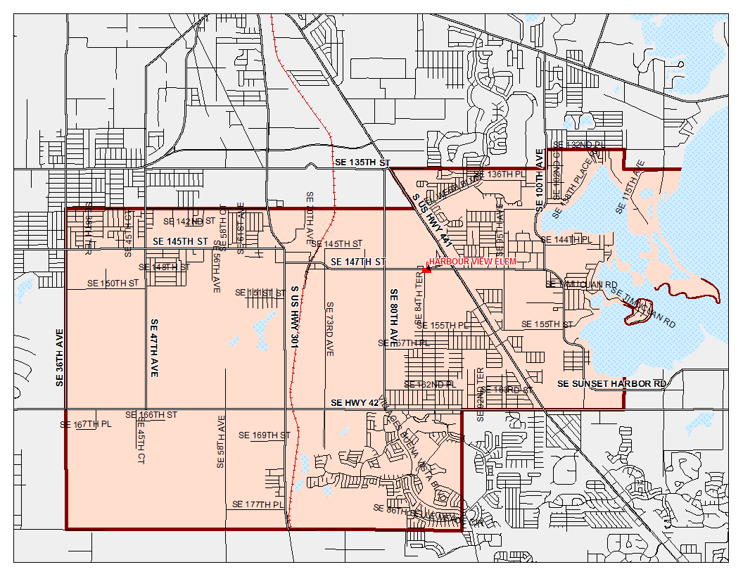 Zoning Boundary Map / Home - Harbour View Elementary School